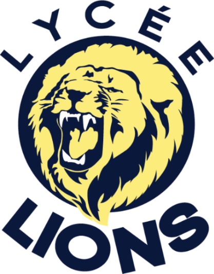 Le Lycee lions athletics logo