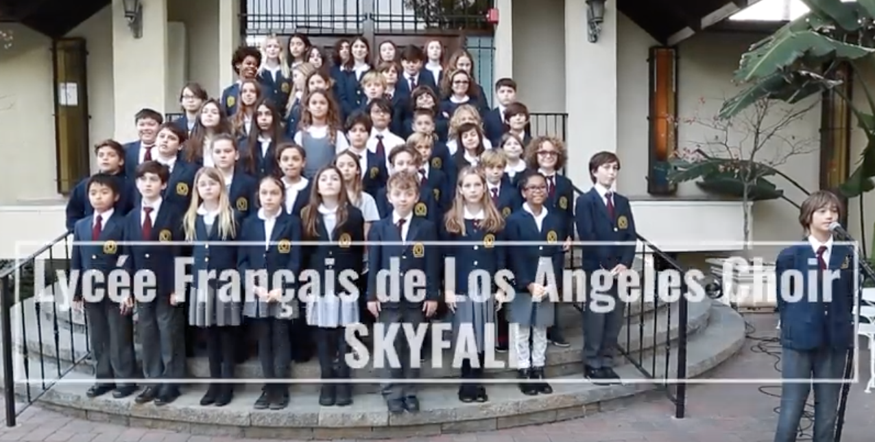 "LyceeLA Choir - ""Skyfall"""