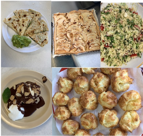 Summer camp food from recipes