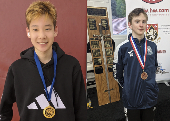 Congratulations to our Lycée High School Fencers